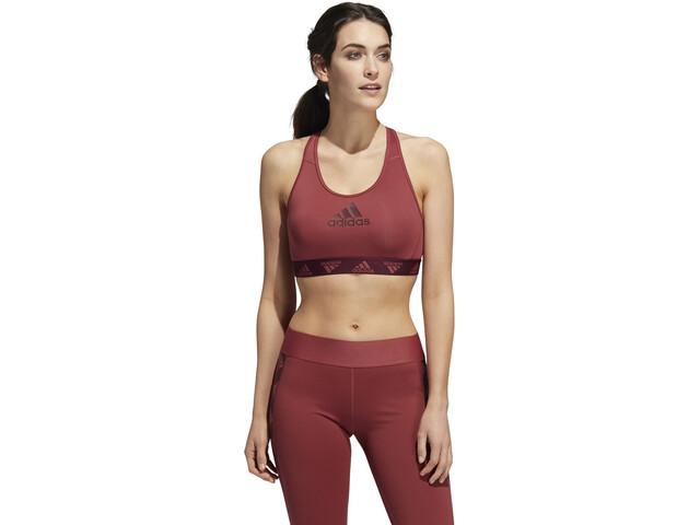 adidas DRST ASK P BOS Sujetador Deportivo Mujer, legacy red/maroon